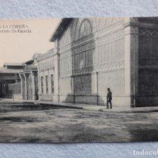 Postales: LA CORUÑA. MERCADO DA GUARDA.. Lote 197299313