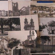 Postales: W-50.- LOTE DE - 10- POSTALES DE LA PROVINCIA DE PONTEVEDRA, DIFERENTES PUEBLOS DE LA PROVINCIA . Lote 197346628