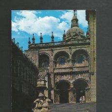 Cartes Postales: POSTAL SIN CIRCULAR - SANBTIAGO DE COMPOSTELA 6 CATEDRAL - FACHADA DE LAS PLATERIAS - ED GARRABELLA. Lote 197486628