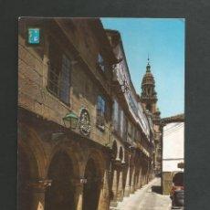 Cartes Postales: POSTAL SIN CIRCULAR - SANTIAGO DE COMPOSTELA 17 - RUA DE VILLAR - EDITA ESCUDO DE ORO. Lote 197498856