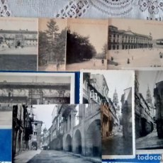 Postales: W-55.- LOTE DE -- 8 -- POSTALES DE -- SANTIAGO DE COMPOSTELA .- DIVERSOS LUGARES DE LA LOCALIDAD . Lote 197560310