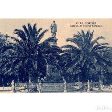 Postais: LA CORUÑA.- ESTATUA DE DANIEL CARBALLO.. Lote 197614048