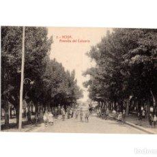 Postales: NOYA.(LA CORUÑA).- AVENIDA DEL CALVARIO.. Lote 197818102
