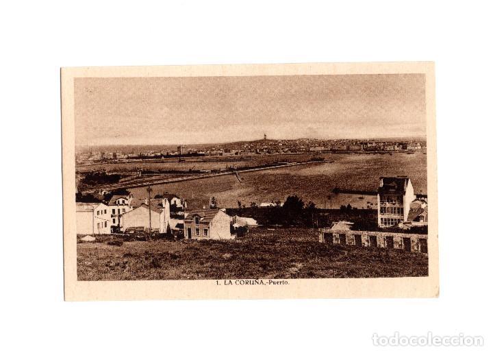 LA CORUÑA.- PUERTO. (Postales - España - Galicia Antigua (hasta 1939))