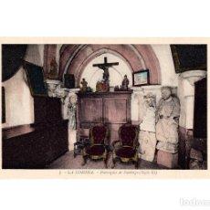 Postales: LA CORUÑA.- PARROQUIA DE SANTIAGO. (SIGLO XI).. Lote 197868972