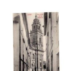Postales: LUGO.- UNA TORRE DE LA CATEDRAL. . Lote 197957196