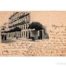 Postales: VIGO.(PONTEVEDRA).- CALLE DE POLICARPO SANZ. CASA BÁRCENA, EL CABLE.. Lote 198082406
