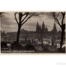 Postales: SANTIAGO DE COMPOSTELA.(CORUÑA).- VISTA DE LA HERRADURA.. Lote 198159886