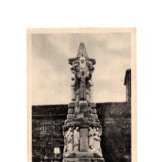Postales: SANTIAGO DE COMPOSTELA.(CORUÑA).- MONUMENTO A SAN FRANCISCO DE ASÍS.. Lote 198160147