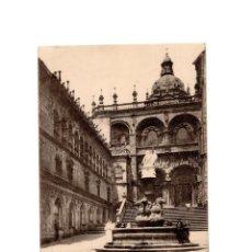 Postales: SANTIAGO DE COMPOSTELA.(CORUÑA).- CATEDRAL Y PUERTA DE PLATERIAS.. Lote 198160620