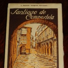 Postais: CUADERNILLO DE 20 POSTALES DE SANTIAGO DE COMPOSTELA. ED.. L. ROISIN, FOTOGRAFO. Nº 5.. Lote 198590226
