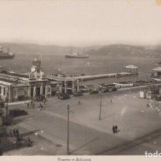 Postales: VIGO - GALICIA PONTEVEDRA - PUERTO Y ADUANAS - EDIFICIONES ARRIBAS. Lote 198590553