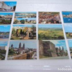 Postales: MAGNIFICO LOTE DE 13 POSTALES ANTIGUAS DE GALICIA LUGO PONTEVEDRA LA CORUÑA COMBARRO PAZO MEIRAS. Lote 198689542