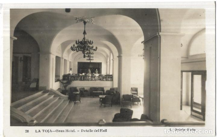 == PV895 - POSTAL - LA TOJA - GRAN HOTEL - DETALLE DEL HALL (Postales - España - Galicia Moderna (desde 1940))