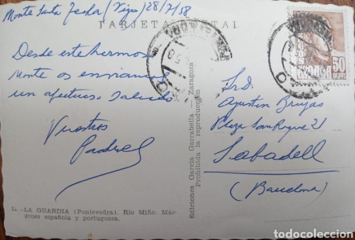 Postales: P-11249. POSTAL LA GUARDIA PONTEVEDRA. MEDIADOS S.XX. - Foto 2 - 198784688