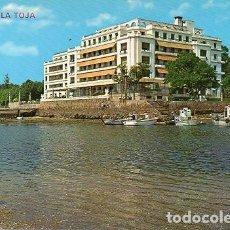 Postales: LA TOJA -27 GRAN HOTEL VISTO DESDE EL MAR. Lote 198807292