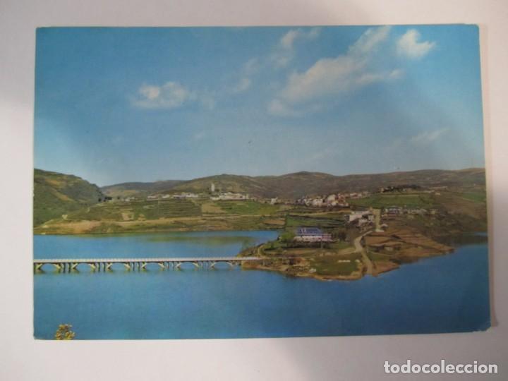 Postales: lote 6 postales viana do bolo ourense galicia embalse bao plaza mayor castelo e torre da igrexa - Foto 3 - 198887163