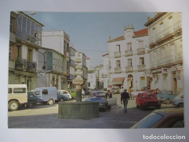 Postales: lote 6 postales viana do bolo ourense galicia embalse bao plaza mayor castelo e torre da igrexa - Foto 4 - 198887163