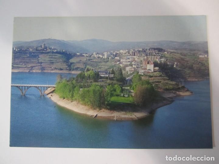 Postales: lote 6 postales viana do bolo ourense galicia embalse bao plaza mayor castelo e torre da igrexa - Foto 6 - 198887163