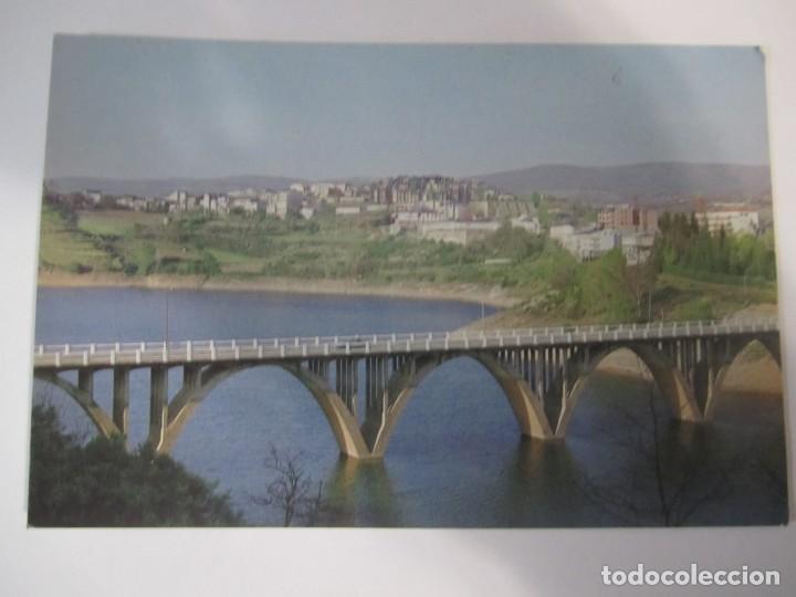 Postales: lote 6 postales viana do bolo ourense galicia embalse bao plaza mayor castelo e torre da igrexa - Foto 7 - 198887163