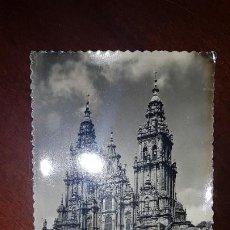 Postales: 2 POSTALES ANTIGUAS DE SANTIAGO DE COMPOSTELA. Lote 199329168