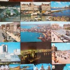 Postales: LA CORUÑA, LOTE DE 21 POSTALES. Lote 199381418