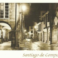 Postales: SANTIAGO DE COMPOSTELA. RUA DEL VILLAR NOCTURNA. ARRIBAS. 2000. BUEN ESTADO. 10,5X15 CM. . Lote 199385253