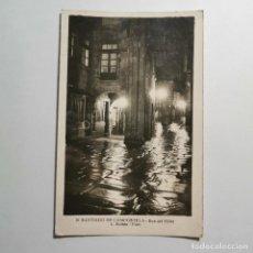 Cartoline: ANTIGUA POSTAL - SANTIAGO DE COMPOSTELA - RUA DEL VILLAR - L. ROSIN FOTO - Nº 10 / 150. Lote 199984071