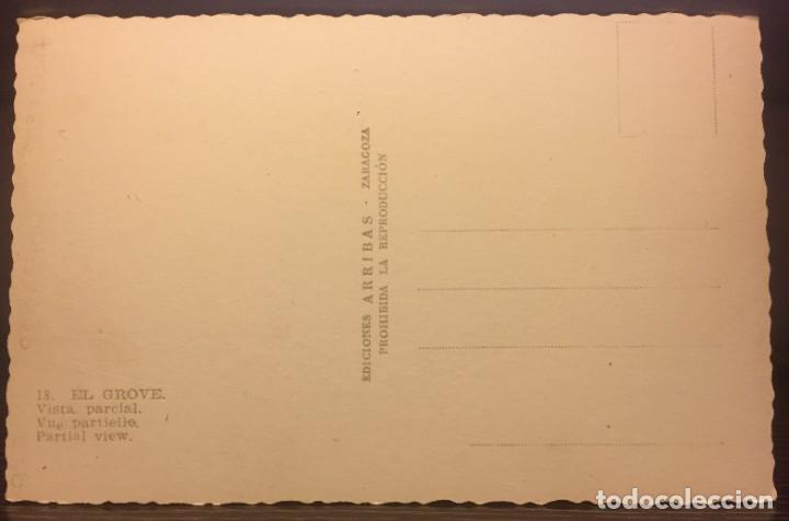 Postales: EL GROVE - VISTA PARCIAL - Nº 18 ED. ARRIBAS - Foto 2 - 201141253