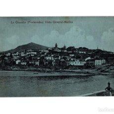 Postales: LA GUARDIA.(PONTEVEDRA).- VISTA GENERAL-MARINA.. Lote 201165595