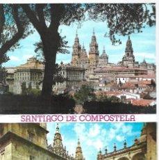 Postales: BLOC DE 10 POSTALES DE SANTIAGO DE COMPOSTELA- EDITA - ARRIBAS -ZARAGOZA. Lote 201779666