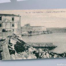Postales: POSTAL LA CORUÑA - CARCEL Y HOSPITAL MILITAR N. 16 (LA INTERNACIONAL EXPRESS). Lote 202624725