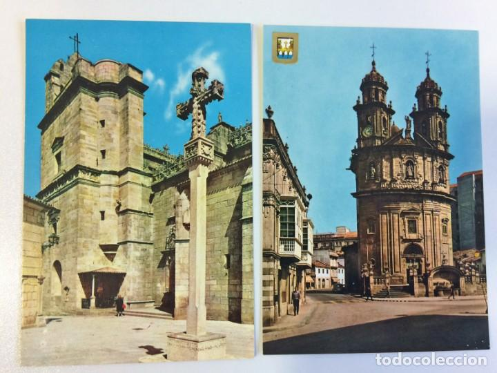 2 POSTALES PONTEVEDRA (Postales - España - Galicia Moderna (desde 1940))
