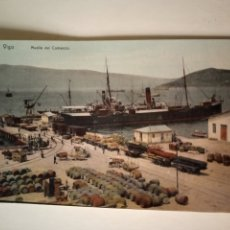 Postales: POSTAL VIGO MUELLE DEL COMERCIO J. FIGUEROA. Lote 204593150
