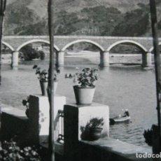 Postales: BARCO DE VALDEORRAS-PUENTE DE SAN FERNANDO-BAZAR DEL SIGLO-POSTAL ANTIGUA-(70.258). Lote 204805508