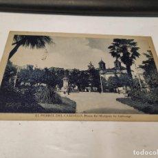 Postales: CORUÑA - POSTAL EL FERROL DEL CAUDILLO - PLAZA DEL MARQUÉS DE AMBOAGE. Lote 205142441