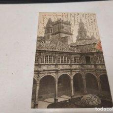 Postales: CORUÑA - POSTAL SANTIAGO DE COMPOSTELA - PATIO DE FONSECA. Lote 205143351