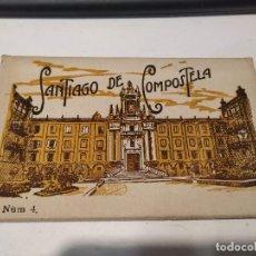 Postales: CORUÑA - BLOC DE 10 POSTALES SANTIAGO DE COMPOSTELA. Lote 205145677