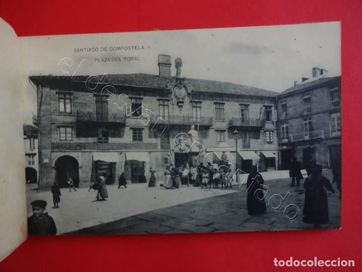 Postales: RECUERDO DE SANTIAGO. Bloc 15 postales (falta una) - Foto 3 - 205195041