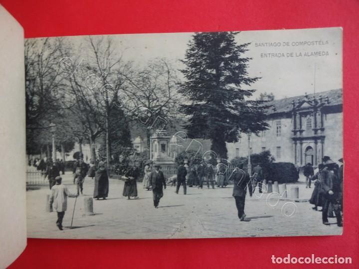 Postales: RECUERDO DE SANTIAGO. Bloc 15 postales (falta una) - Foto 4 - 205195041