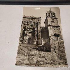 Postales: PONTEVEDRA - POSTAL PONTEVEDRA - FACHADA DE SANTA MARÍA. Lote 205296873