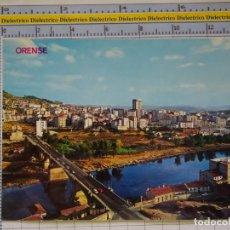 Cartoline: POSTAL DE ORENSE. AÑO 1973. VISTA PARCIAL Y PUENTE NUEVO. 69 ARRIBAS. 1236. Lote 205384653