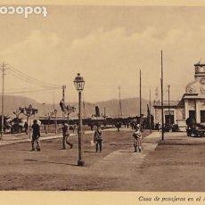 Postales: PONTEVEDRA VIGO CASA DE PASAJEROS EN EL MUELLE. NO CONSTA EDITOR. POSTAL FOTOGRAFICA SIN CIRCULAR. Lote 205588707