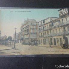 Postales: VIGO PONTEVEDRA AVENIDA DE GARCIA BARBÓN. Lote 205690486