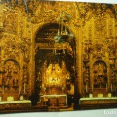 Postales: POSTAL ORENSE CATEDRAL.- CAPILLA SANTO CRISTO ESCRITA. Lote 206210260