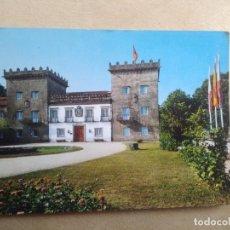 Postales: POSTAL VIGO, CASTRELOS, PALACIO QUIÑONES DE LEON. Lote 206225333