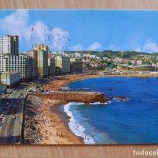 Postales: TARJETA POSTAL - LA CORUÑA PLAYAS DE ORZAN Y RIAZOR 193. Lote 206247540