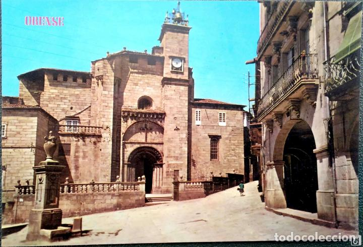 ORENSE. 162 CATEDRAL. ED. PARÍS. NUEVA. COLOR (Postales - España - Galicia Moderna (desde 1940))