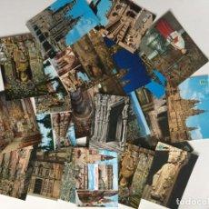 Postales: 25 POSTALES SANTIAGO COMPOSTELA. Lote 206472723