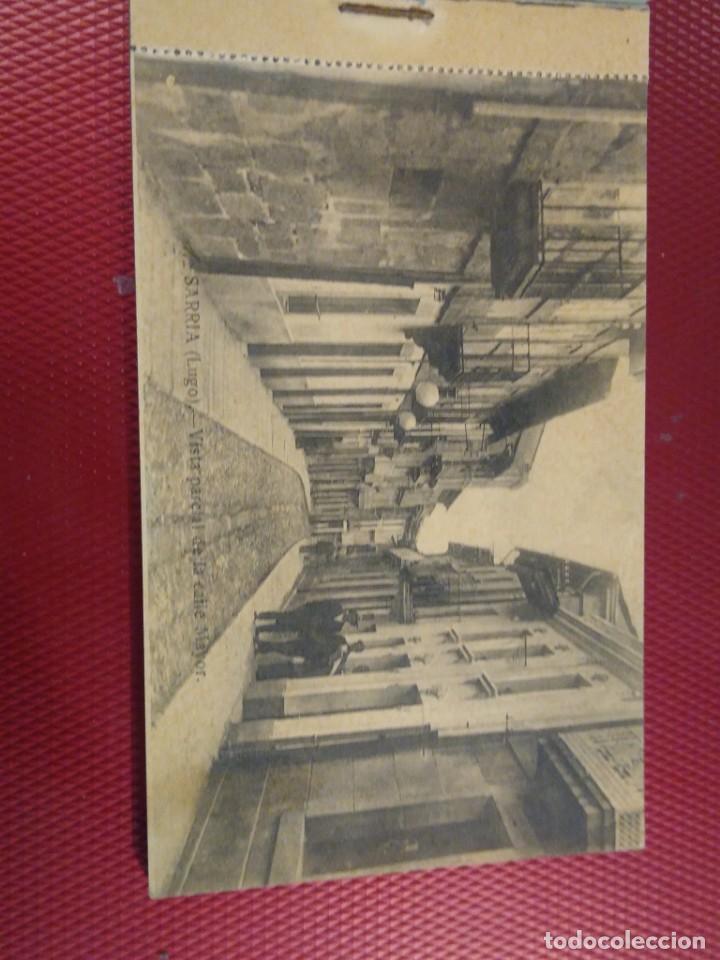 Postales: Vistas de Sarria Lugo. 14 tarjetas postales. Edición El Siglo. - Foto 2 - 206882436